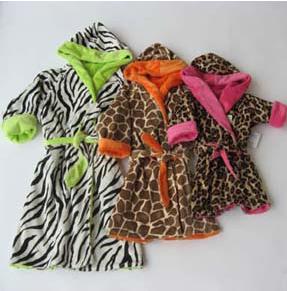 Animal Print Robes